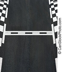 Start and Finish race line asphalt texture Grand Prix...