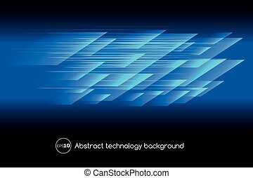 Abstract hi tech blue background
