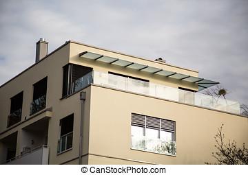 Roof terrace in Munich