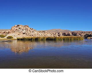 Bolivian Landscape - Bolivia, Potosi Departmant, Nor Lipez...