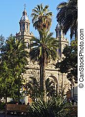 Plaza de Armas in Santiago de Chile - Chile, Santiago, View...