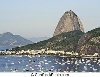 Rio de Janeiro - Brazil, City of Rio de Janeiro, View over...