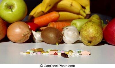 Fruit, vegetables, or medicines ?