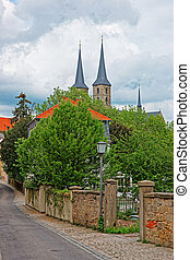 Church of St Michael in Bamberg of Upper Franconia Germany -...