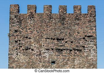 Aci Castello castle in Sicily, Italy - The Aci Castello's...