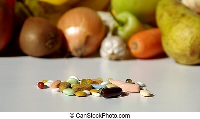 Fruit, vegetables, or medicines ? - Health have just one, so...