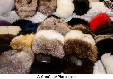 Group of Winter Hats