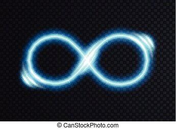 Infinite shining symbol.
