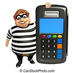 Thief with Swap machine