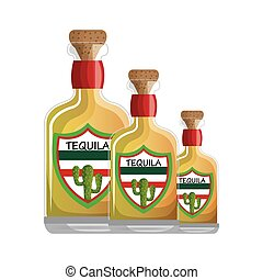 mexican tequila drink icon vector illustration design