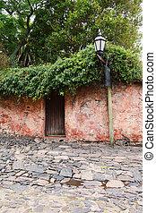 Old house in Colonia del Sacramento, Uruguay.
