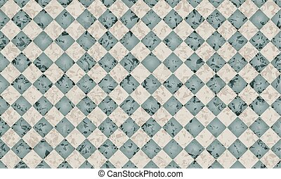 Blue vector abstract background with marble pattern