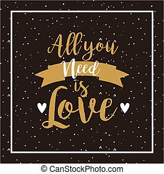 all you need is love design - card of all you need is love...