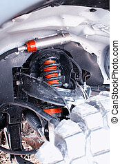 shock absorber and suspension