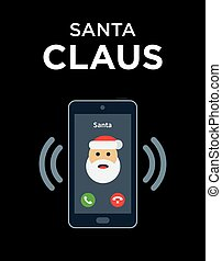 Marry Christmas phone call from Santa - Christmas phone call...
