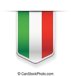 Italy flag ribbon