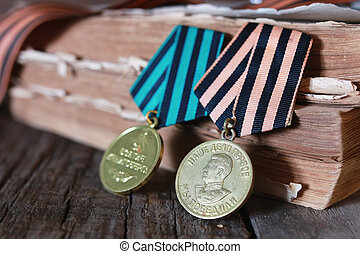 medals WWII composition - Awards of Merit in World War II by...
