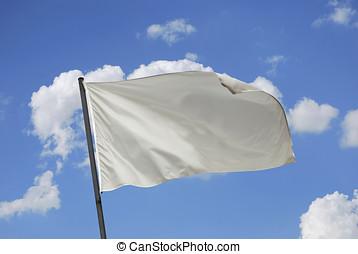 branca, bandeira