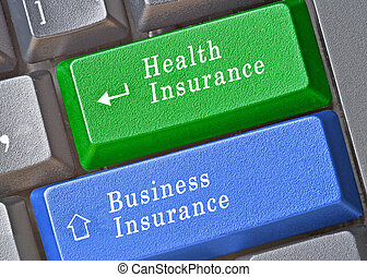 Keys for business and health insurance
