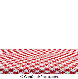 Empty table isolated on white background - use for your...