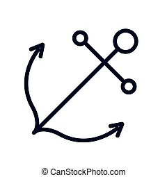 Isolated anchor design