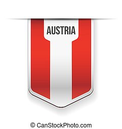 Austria flag ribbon