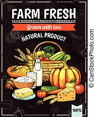 Farm Products Poster