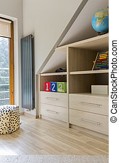 Practically arranged space for a school child - Corner of a...