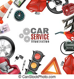 Car Service Template - Car service template with auto...
