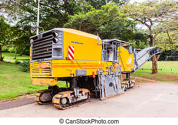 Road Construction Machines - Road highway construction...