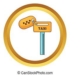 llaves,  taxi,  vector, icono