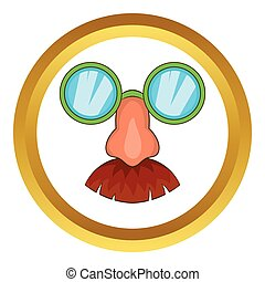 Disguise mask vector icon