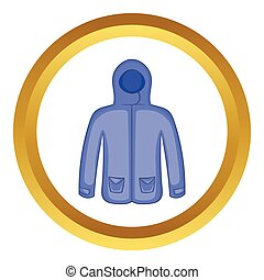 Hoodie sweater vector icon