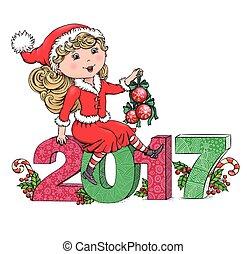 Santa Girl 2017