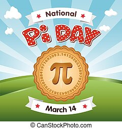 Pi Day, March 14, Holiday - Pi Day, March 14, to celebrate...
