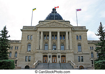 Regina Legislature building, Saskatchewan, Canada
