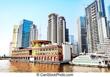 China Shanghai the Bund - Shanghai, China, the Bund and the...