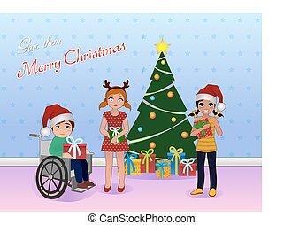 Share Christmas for Special needs children - give merry...