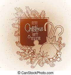 Christmas graphic design