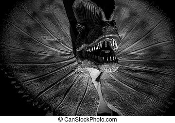 Rex,  tyrannosaurus, 牙齒, 恐龍, 長牙, 長, 鋒利