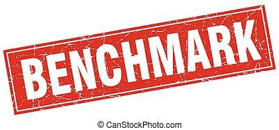 benchmark square stamp