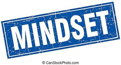 mindset square stamp