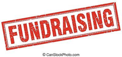 fundraising square stamp
