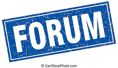 forum square stamp