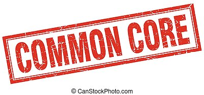 common core square stamp