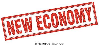 new economy square stamp