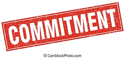 commitment square stamp