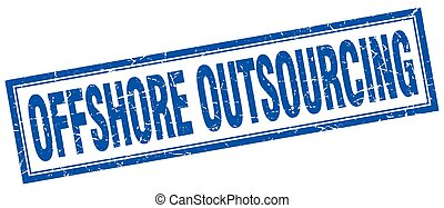 offshore outsourcing square stamp