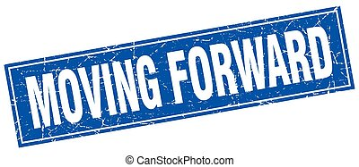 moving forward square stamp