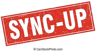 sync-up square stamp
